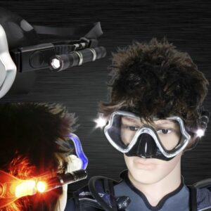 Aquatec LED 1700 Scuba Mask Light